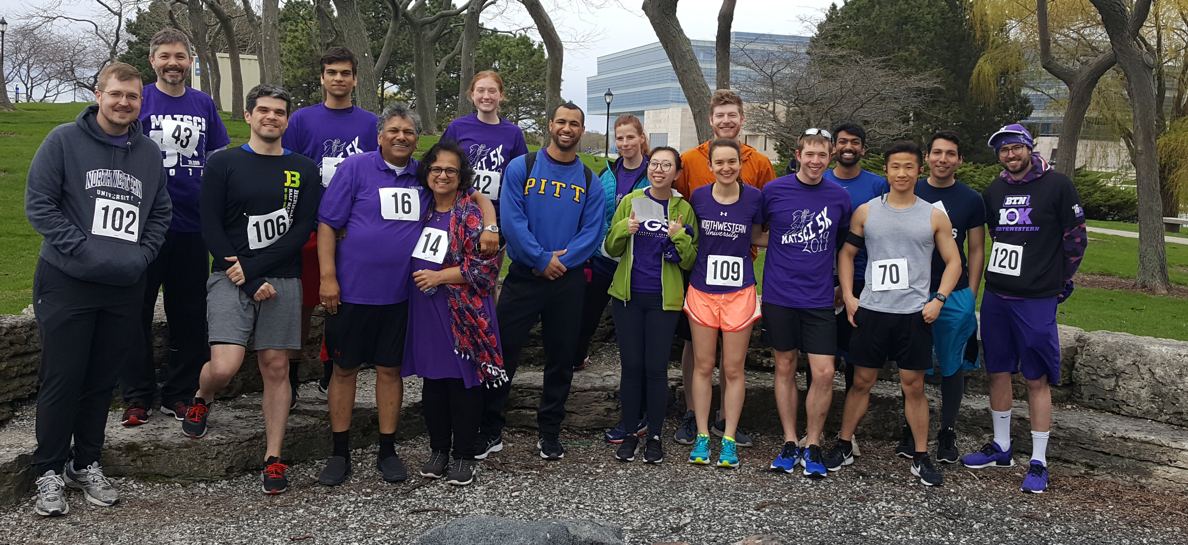 VPD Group and NUANCE staff at the MSSA 5K