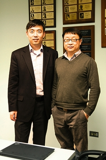 Jinsong and Dr. Wang